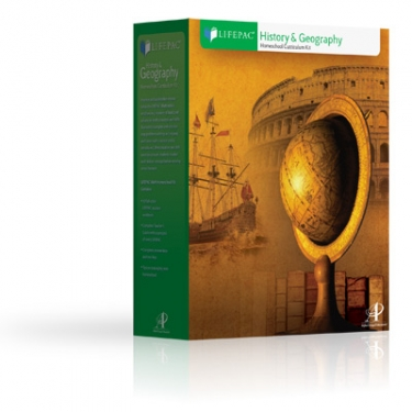 Lifepac Hist and Geog Grd 7 Set