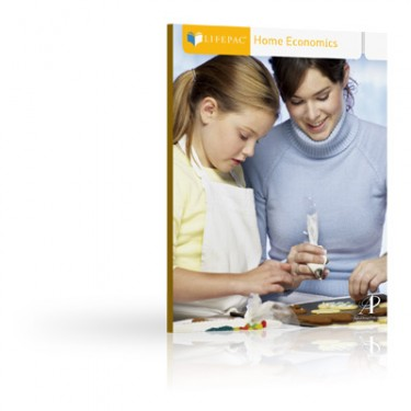Lifepac Home Economics Student Bks (set Of 10 Lifepacs) 7th - 12th Grade