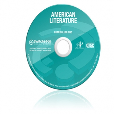 Switched On Schoolhouse American Literature (7th - 12th Grade)