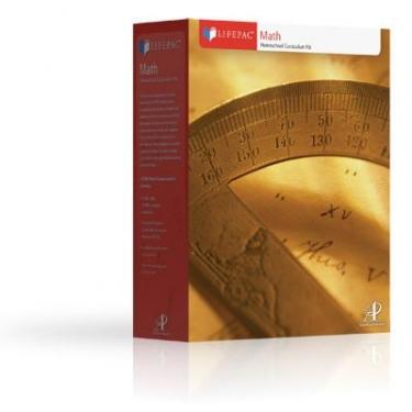 Lifepac Math Complete 8th Grd Set (Pre Algebra/Geometry)