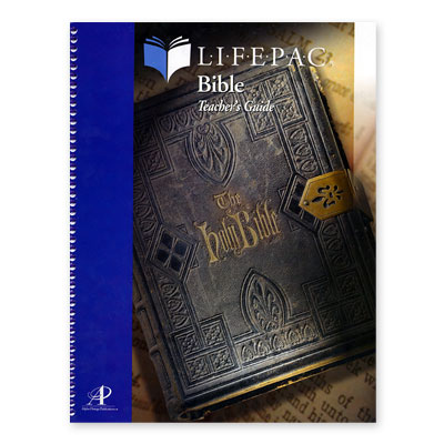 Lifepac Bible Grd 8 Teacher Book
