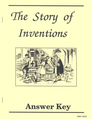 Story of Inventions Answer Key 2nd edition