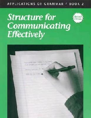 Applications Of Grammar Book 2 Grade 8