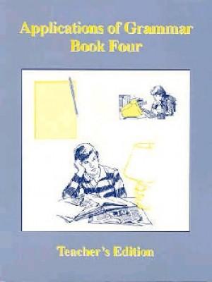 Applications Of Grammar Book 4 Answer Key