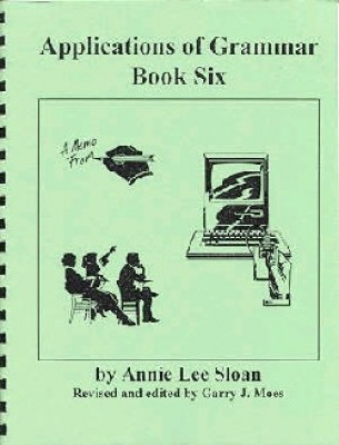 Applications Of Grammar Book 6 Grade 12