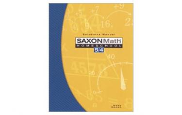 Saxon Math 54 Tests and Worksheets Third Edition (4th Grade)