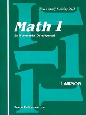 Saxon Math 1 Meeting Book First Edition