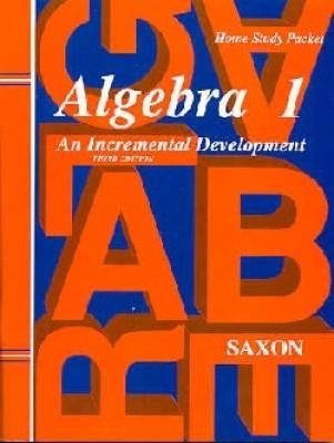 Saxon Algebra 1 Answer Key and Tests Third Edition (9th Grade)