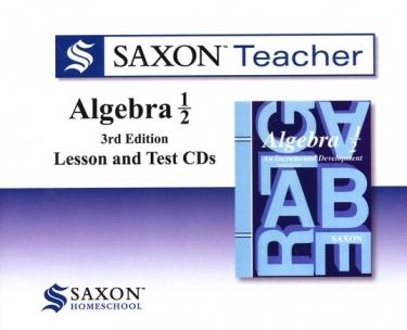 Saxon Algebra 1/2 Teacher CDs (8th Grade)