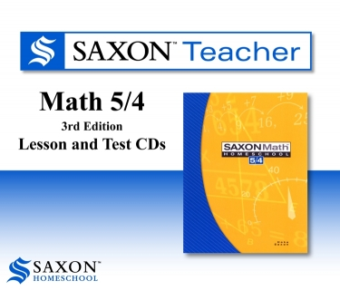 Saxon Math 54 Teacher CD-roms (4th Grade)