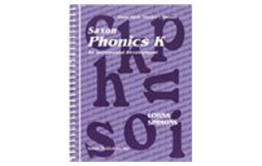 Saxon Phonics K Student Workbook/Readers First Edition