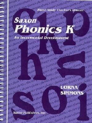 Saxon Phonics K Home Study Kit First Edition