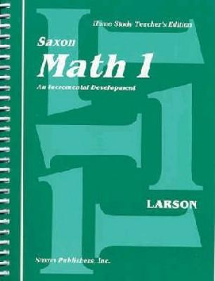 Saxon Math 1 Home Study Teachers Manual First Edition