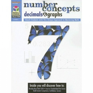 Middle School Collection Math Number Concepts and Decimals Grd 5-8
