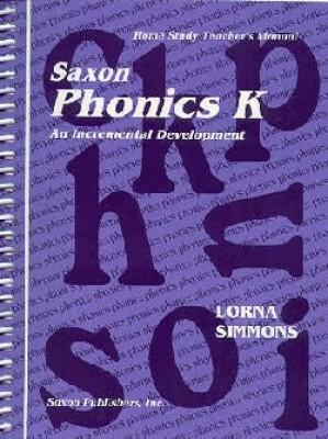 Saxon Phonics K Home Study Teachers Manual First Edition