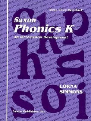 Saxon Phonics K Teaching Tools First Edition