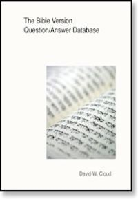 Bible Version Question and Answer Database, The