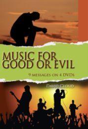 Music For Good Or Evil DVD Set
