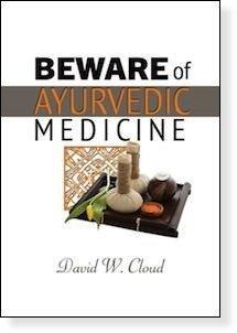 Beware of Ayurvedic Medicine