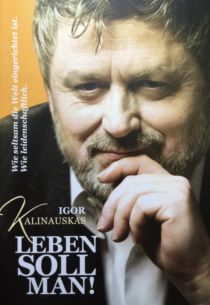 "Книга Игоря Калинаускаса  ""Leben soll man!"" 12+"