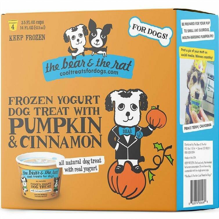 PUMPKIN & CINNAMON - Frozen Yogurt (4PK)