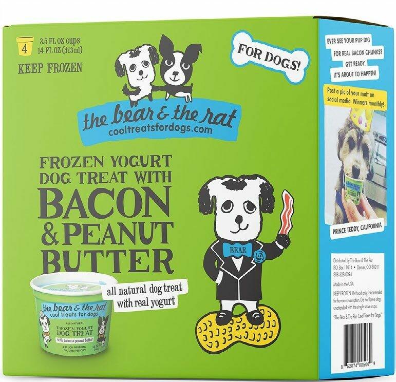 BACON & PEANUT BUTTER - Frozen Yogurt (4PK)