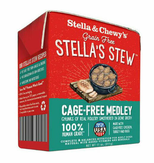 Cage-Free Medley Stew