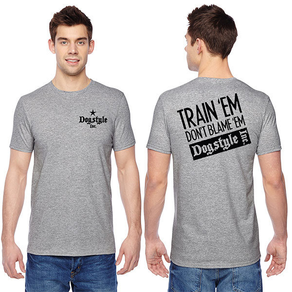 """""""Train 'Em, Don't Blame 'Em"""" T-Shirt"""