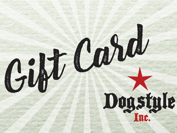 $100 Dogstyle Inc. Gift Card