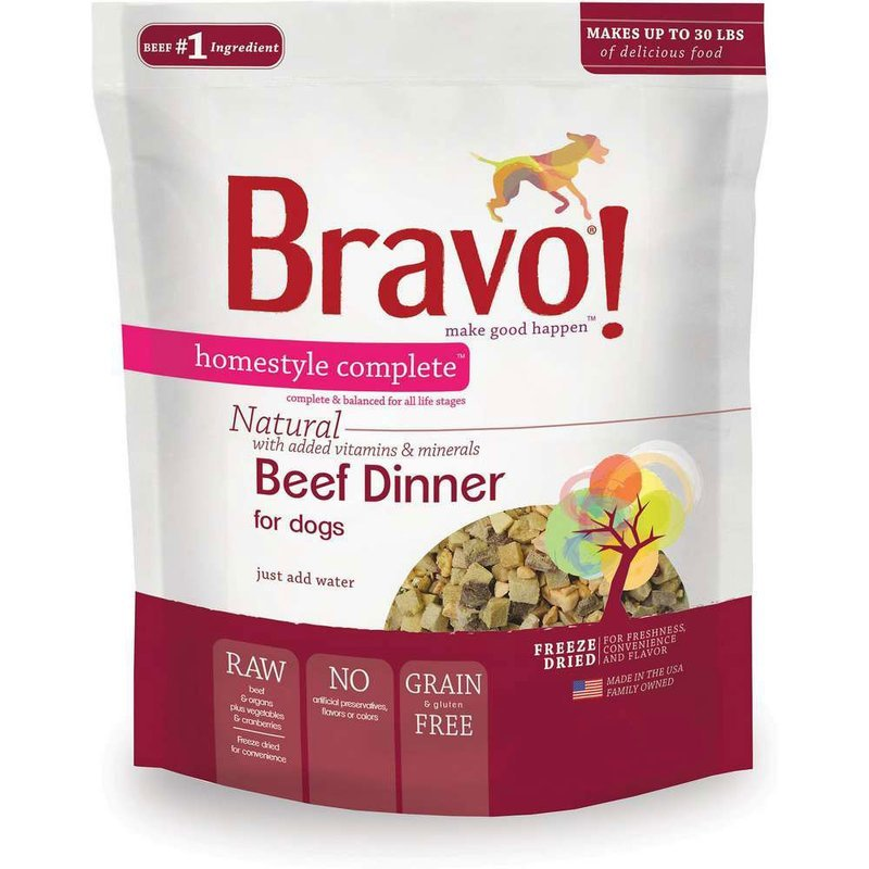 Bag Freeze Dried Raw Homestyle Complete -6LB