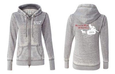 Bombshell Women's Fleece Full-Zip Hooded Sweatshirt