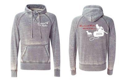 Bombshell Vintage Fleece Hooded Pullover Sweatshirt