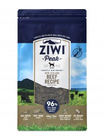 Ziwi Peak Air-Dried Beef (1lb or 2.2lb)