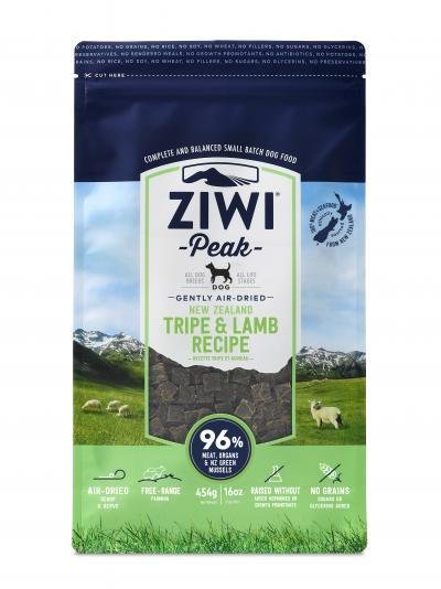 Ziwi Peak Air-Dried Tripe and Lamb (1lb or 2.2lb)