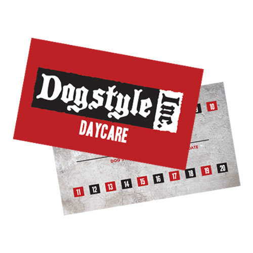 Daycare Punch Card 00147