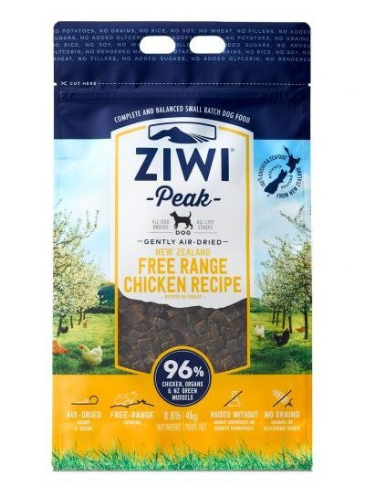 Ziwi Peak Air-Dried Free Range Chicken (5.5lb or 8.8lb)