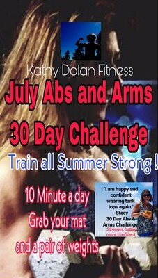 JULY 30 Day Challenge ABS AND ARMS