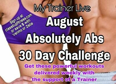 Ab-solutely August Challenge (One Month)