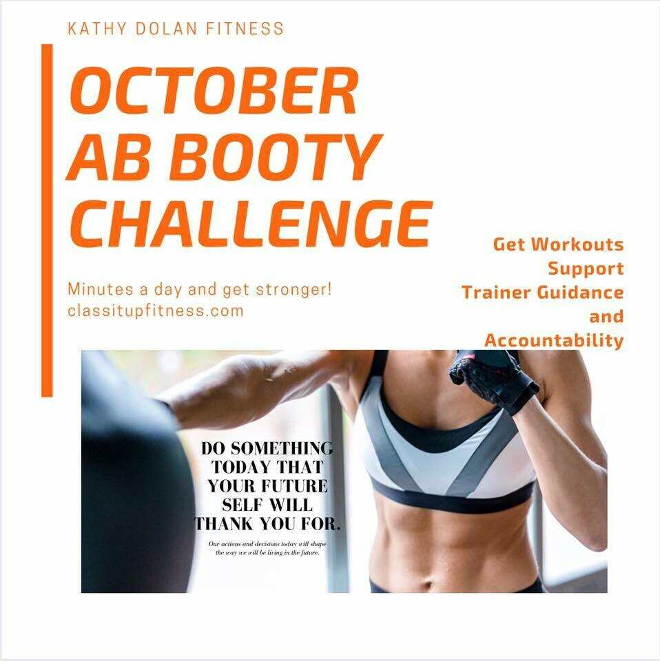 Fall Fitness Abs and Booty 30 Day Challenge