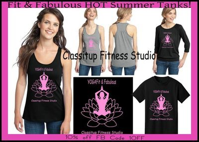 Fit and Fabulous Yoga Tanks