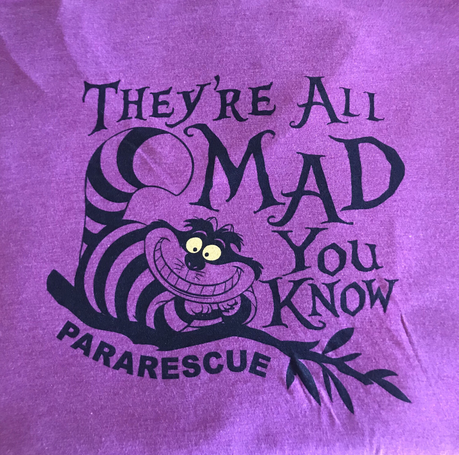 """Pja/ Ladies """"They're All Mad You Know"""" T-Shirts"""