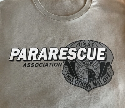 pja/ Green PJA Pararescue Motto T-Shirt