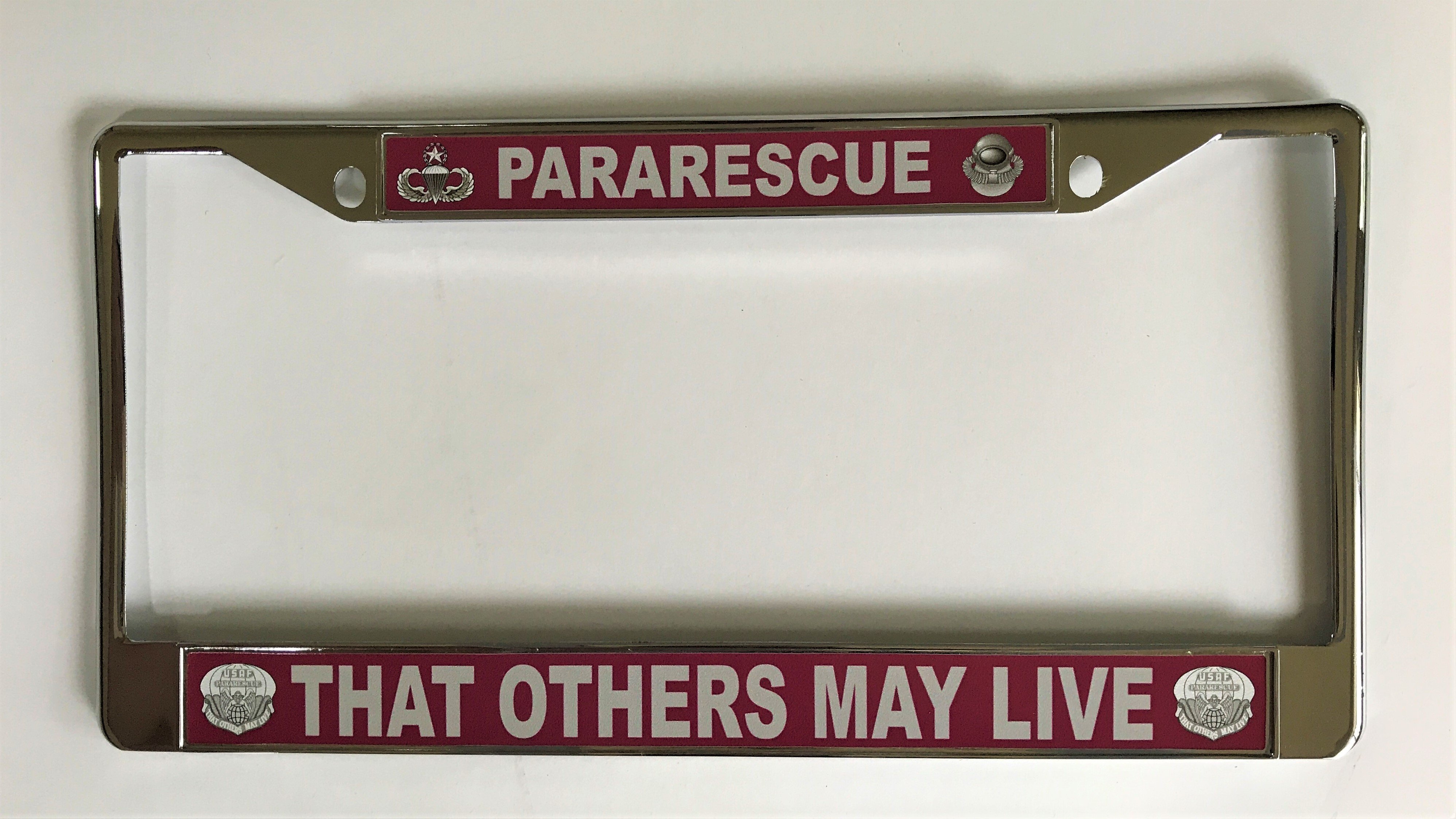 pja/ Pararescue License Plate Frame 01-0016