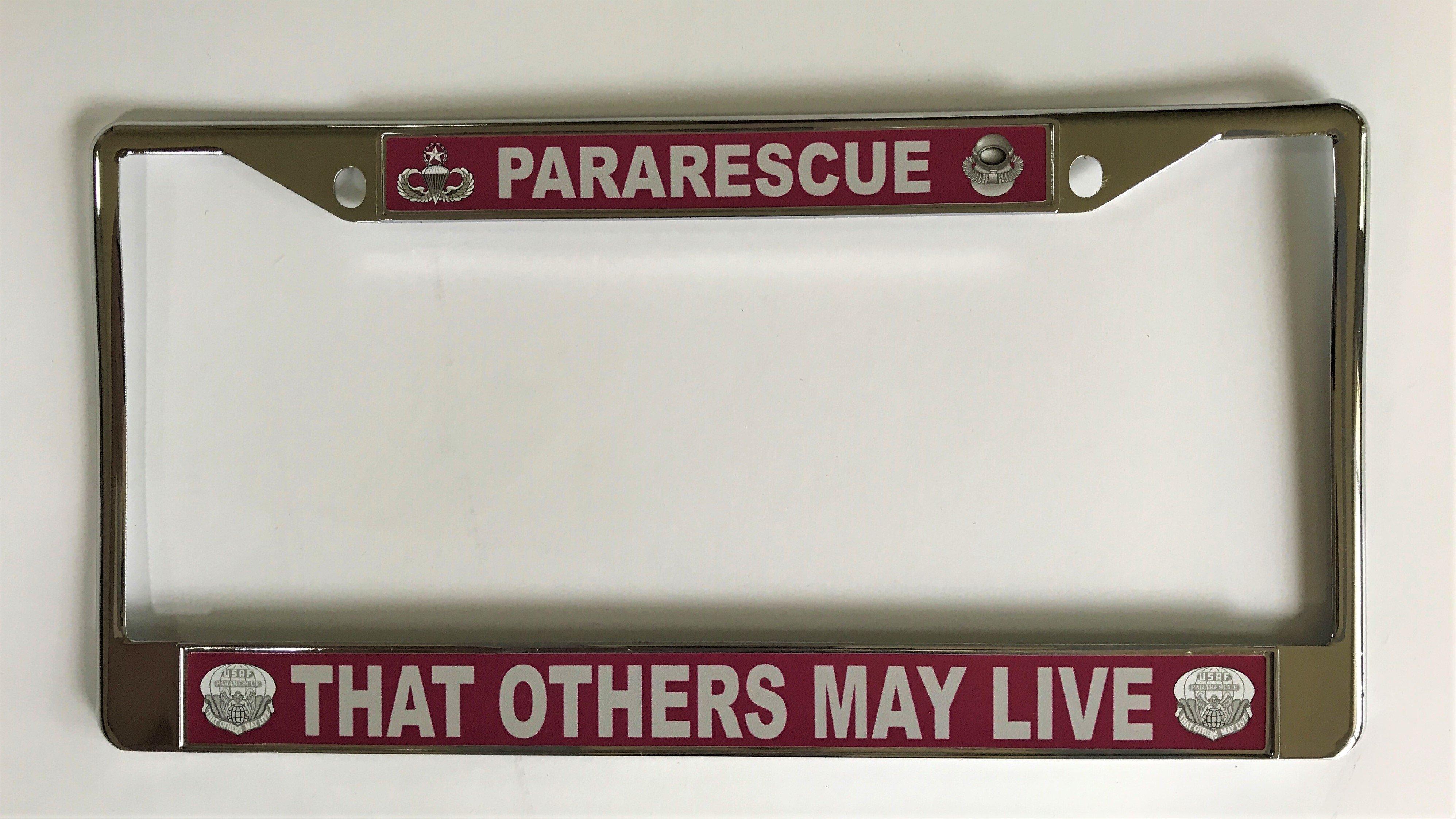 pja/ Pararescue License Plate Frame 01-0016