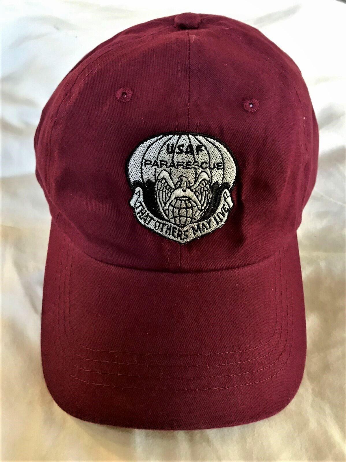 pja/ PJ Maroon Cap w/embroidered flash 01-0013