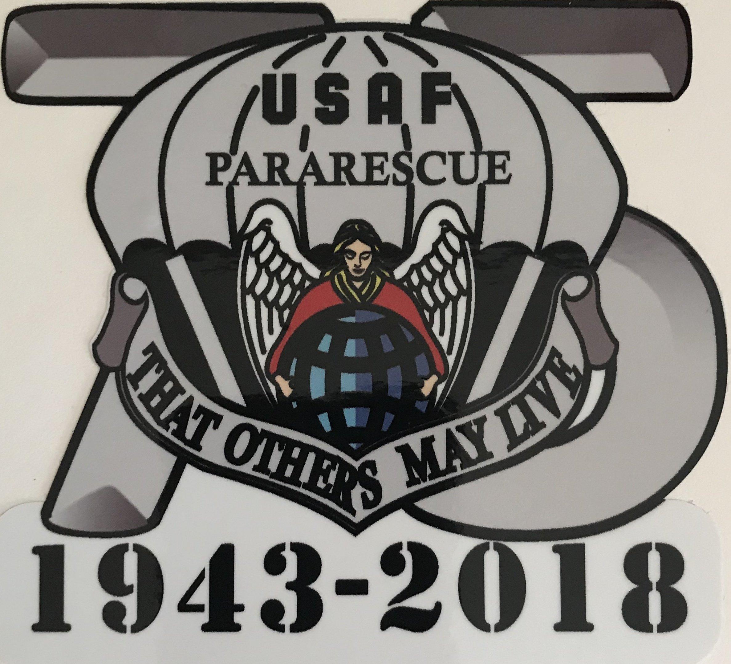 dsp/ ParaRescue 75th Anniversary Sticker (2 stickers) 06-0024