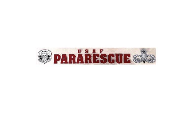 "dsp/ Pararescue Window Sticker - 16"" Long X 2"" Wide"