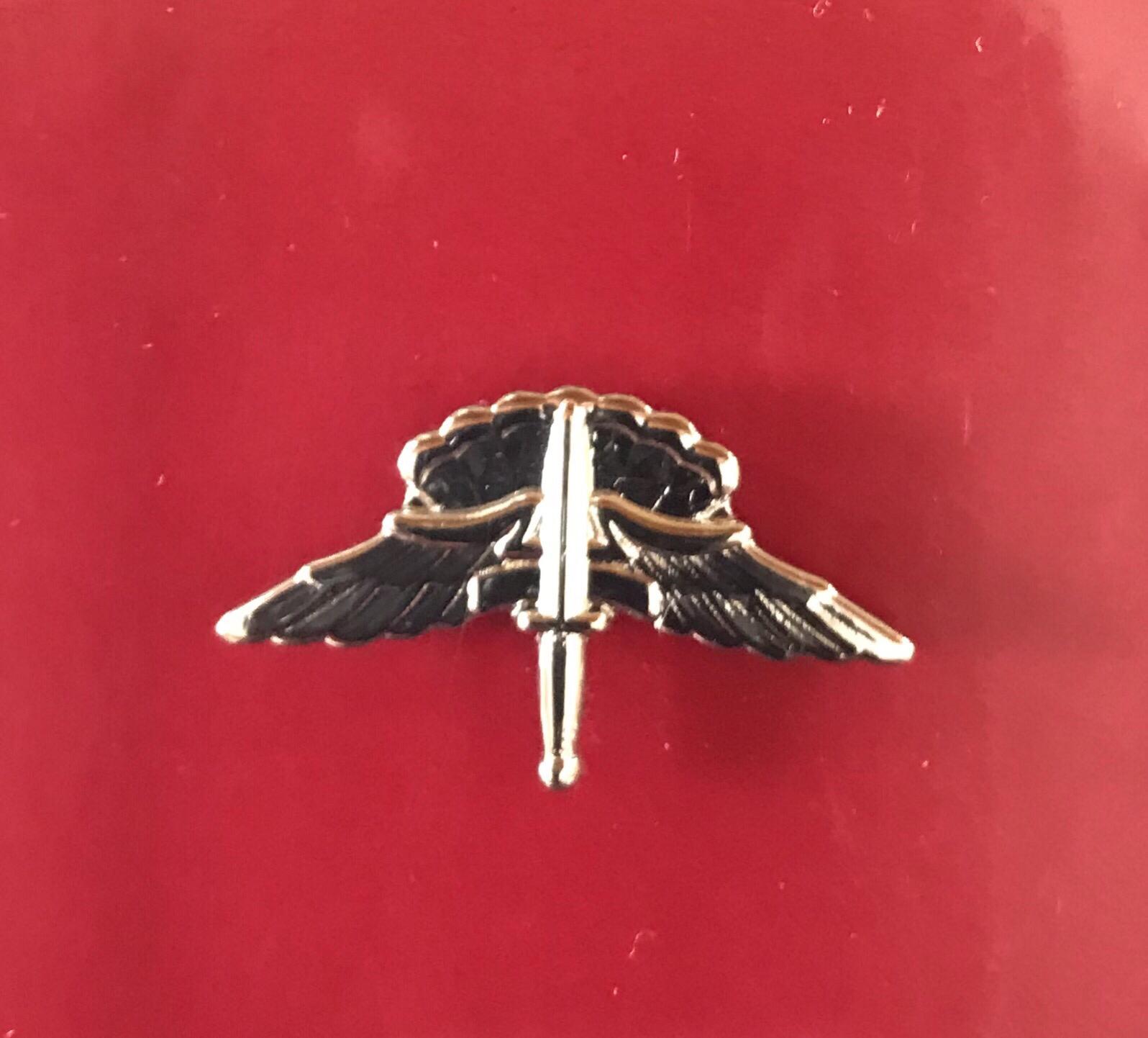 bdg/ Freefall Jump Wings - Mirror Finish (Mini-Badge) 04-0009