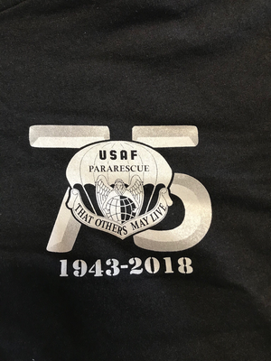 pja/ Black 75th Anniversary T-Shirt