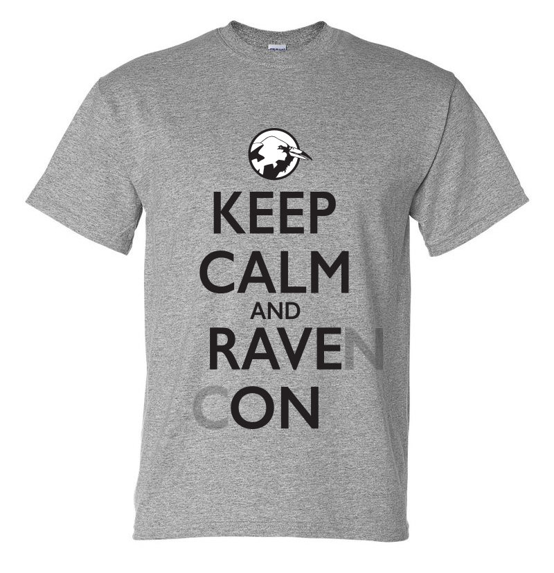Keep Calm and Rave On T-Shirt (Men's) 00014